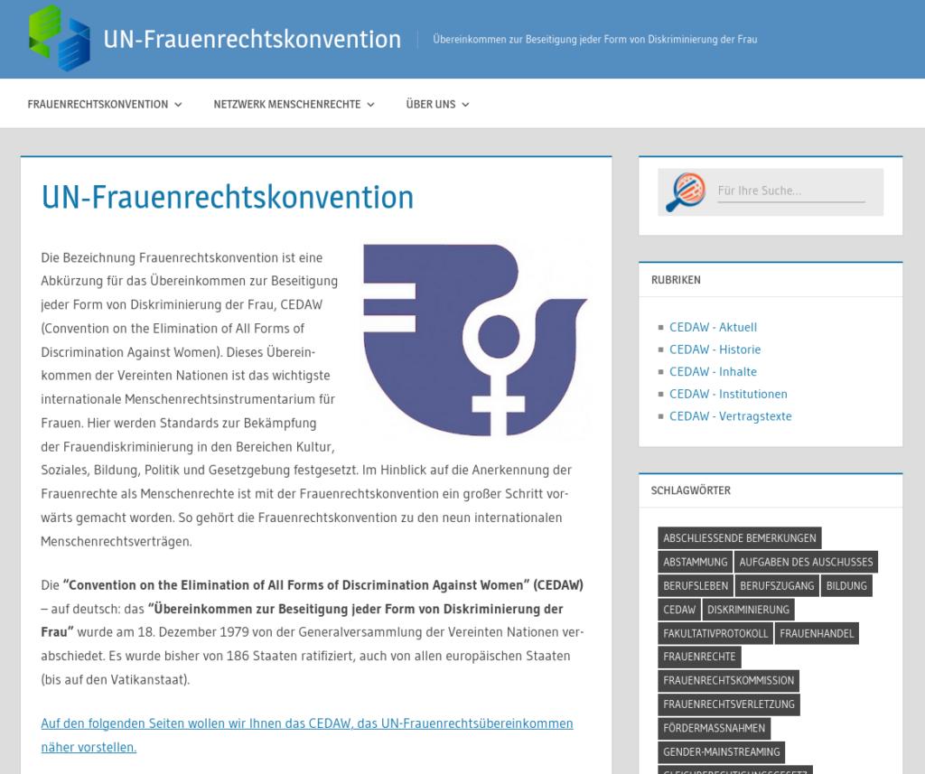 UN-Frauenrechtskonvention