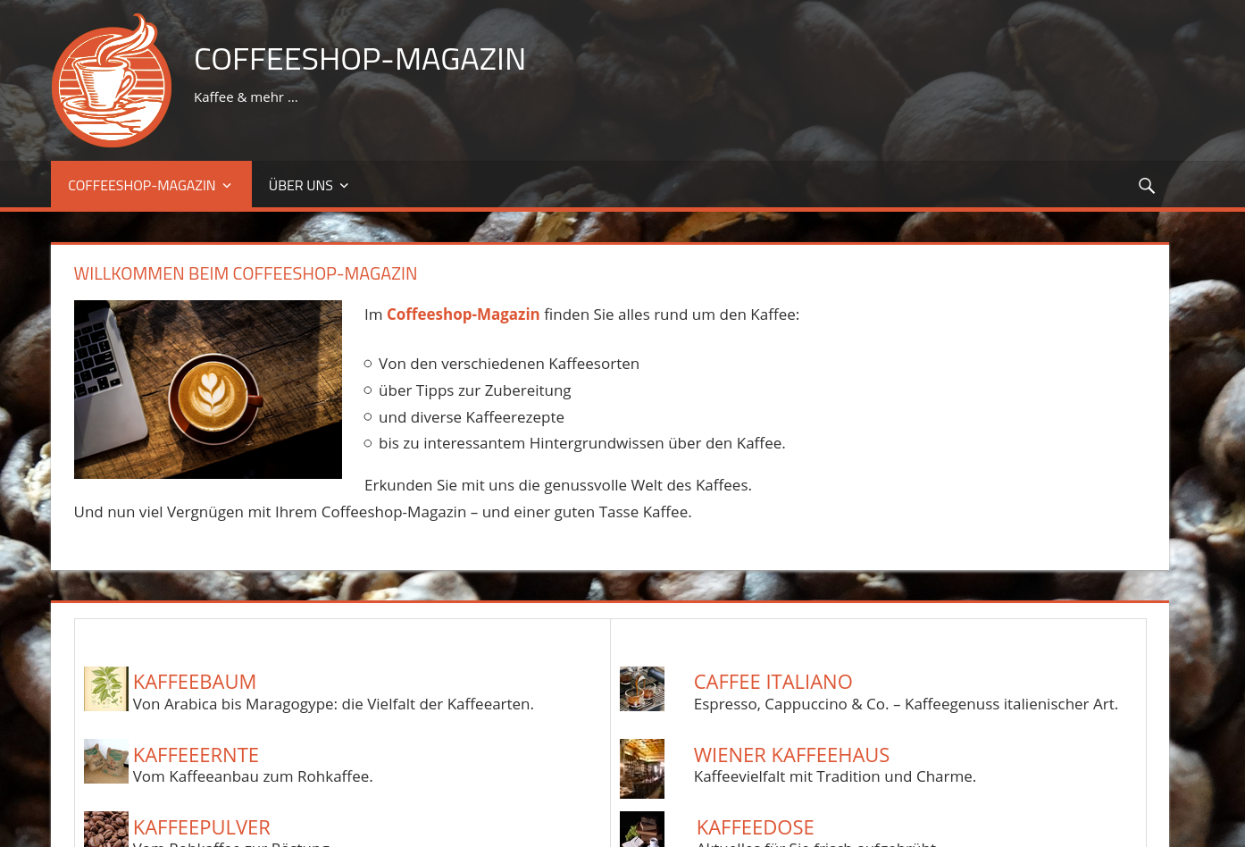 Coffeeshop-Magazin