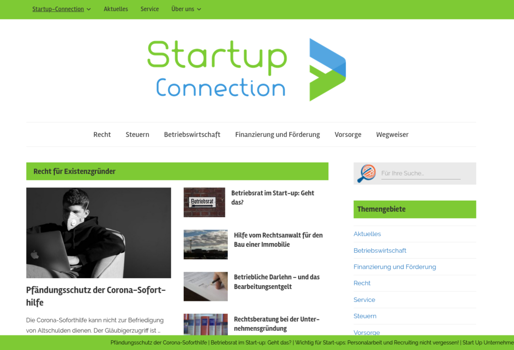 Startup Connection