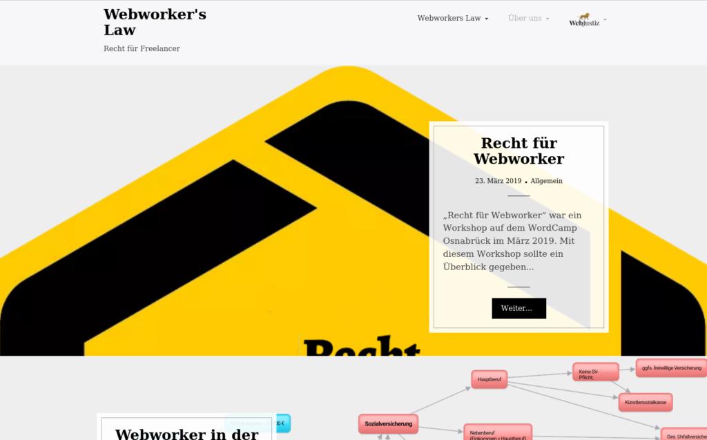 Webworker's Law